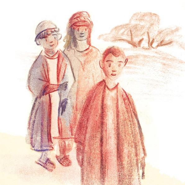 De bijbel voor kinderen op rijm - het nieuwe testament - illustration by Pyhai
