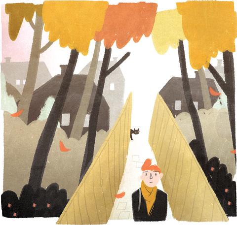 Achter Gesloten Gordijnen, a children's book illustrated by Pyhai